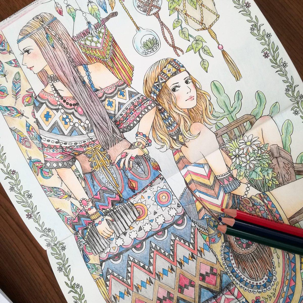 ぜったいキレイに仕上がる塗り絵ビューティフルドレス世界の美しい服24着