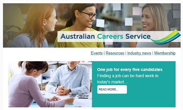 test Twitter Media - The #AusCareer November newsletter is out today! Here's what we discussed: https://t.co/MB8d0ehUwi https://t.co/BBSbYUcuqc