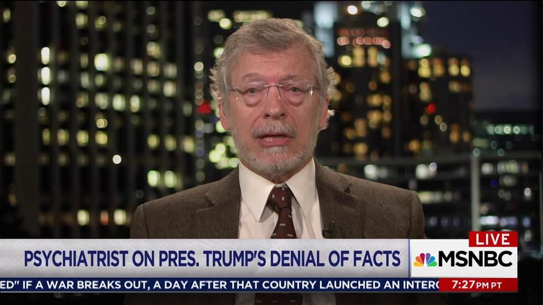 Psychiatrist: Trump's mental state is an 'enormous present danger' https://t.co/olxCcDHorv https://t.co/6ZvsWf5KBb