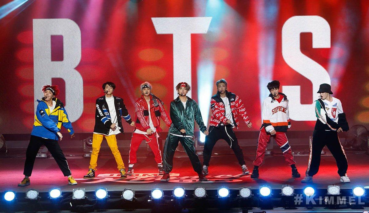 #BTS on #Kimmel TONIGHT! @BTS_twt #BTSxJimmyKimmel #MicDropRemix