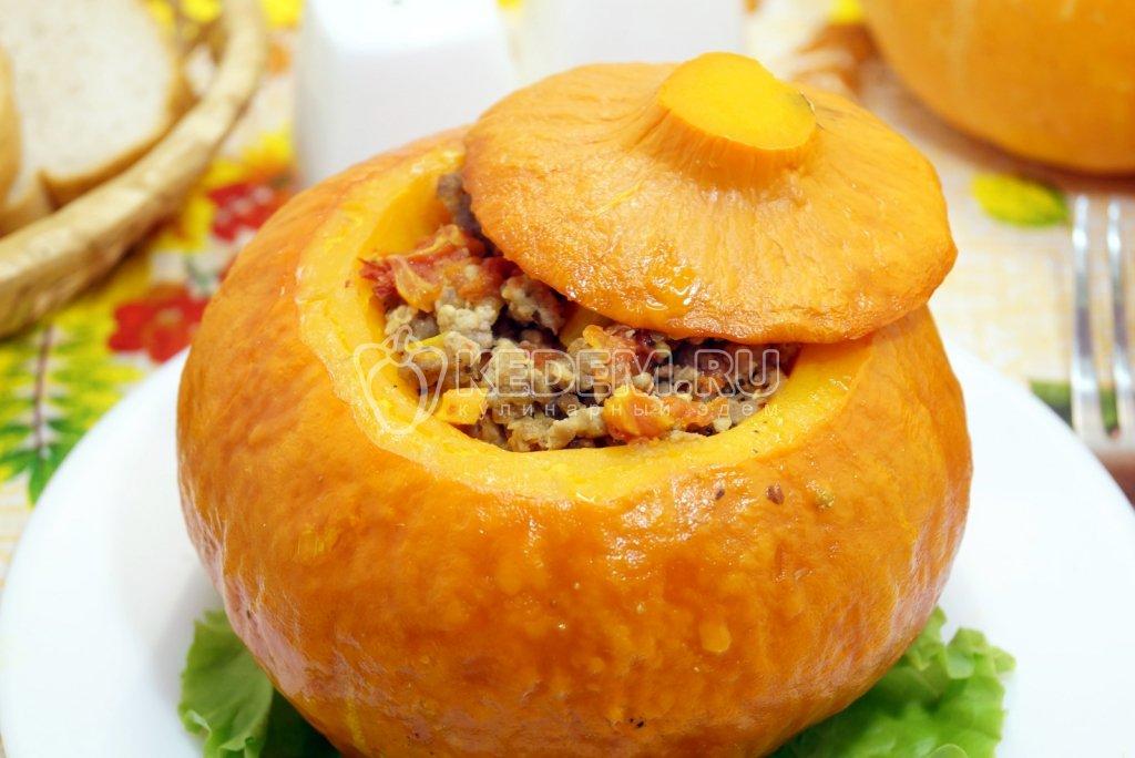 Вкусные вторые блюда из тыквы рецепты