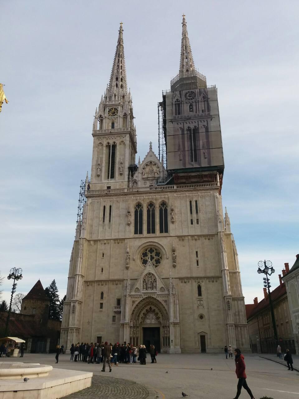 Zgportal Zagreb On Twitter Katedrala Uznesenja Blazene Djevice