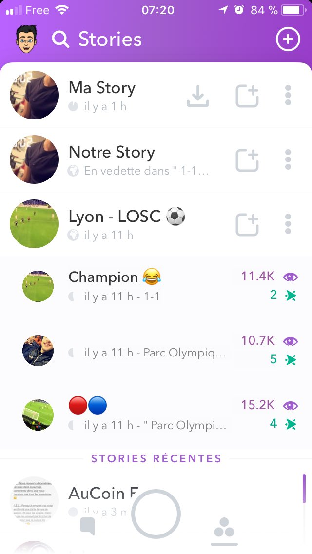 RT @TogusLeVrai: Quand tu mets un snap dans la local story et que ça part sur le snap du match  😏🔥 #OLLOSC #Teamol https://t.co/Exsb4gDHU8
