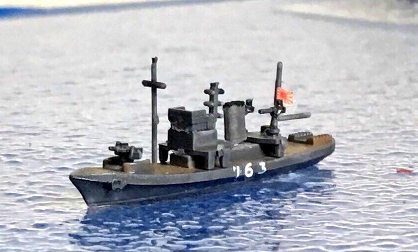 """めめゴーbot в Twitter: """"第一号型哨戒特務艇第163号です。1944年7月 ..."""
