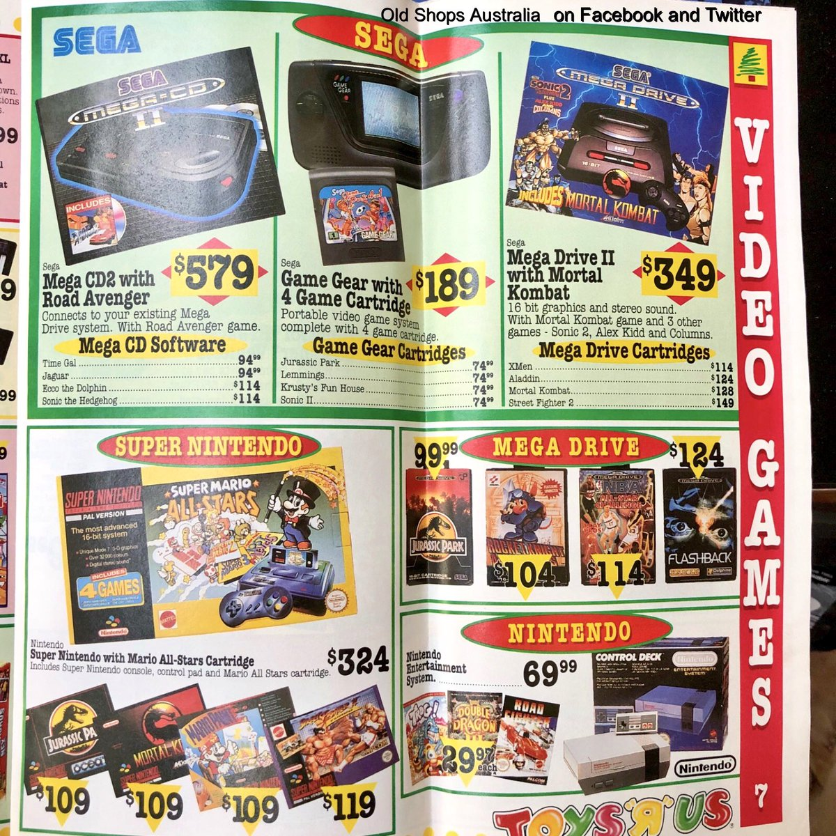 Old Shops Australia On Twitter Toys R Us 1993 Goodgame Gamers