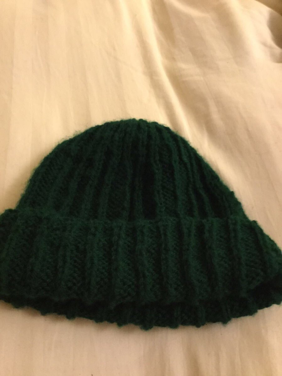 da48883b7bde62 Not wanting to pay £100 for a hat, my mum has knitted one. She is getting  her graphic designer friend to make a logo. Can't wait for Christmas this  ...