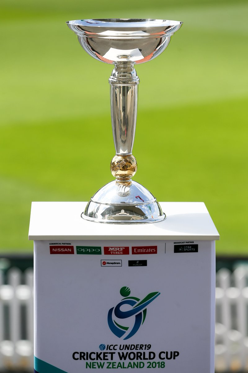 Who Do You Think Will Lift This Trophy On 3 February Bitly U19CWC 2018Launch Pictwitter EiHZLDZgVf