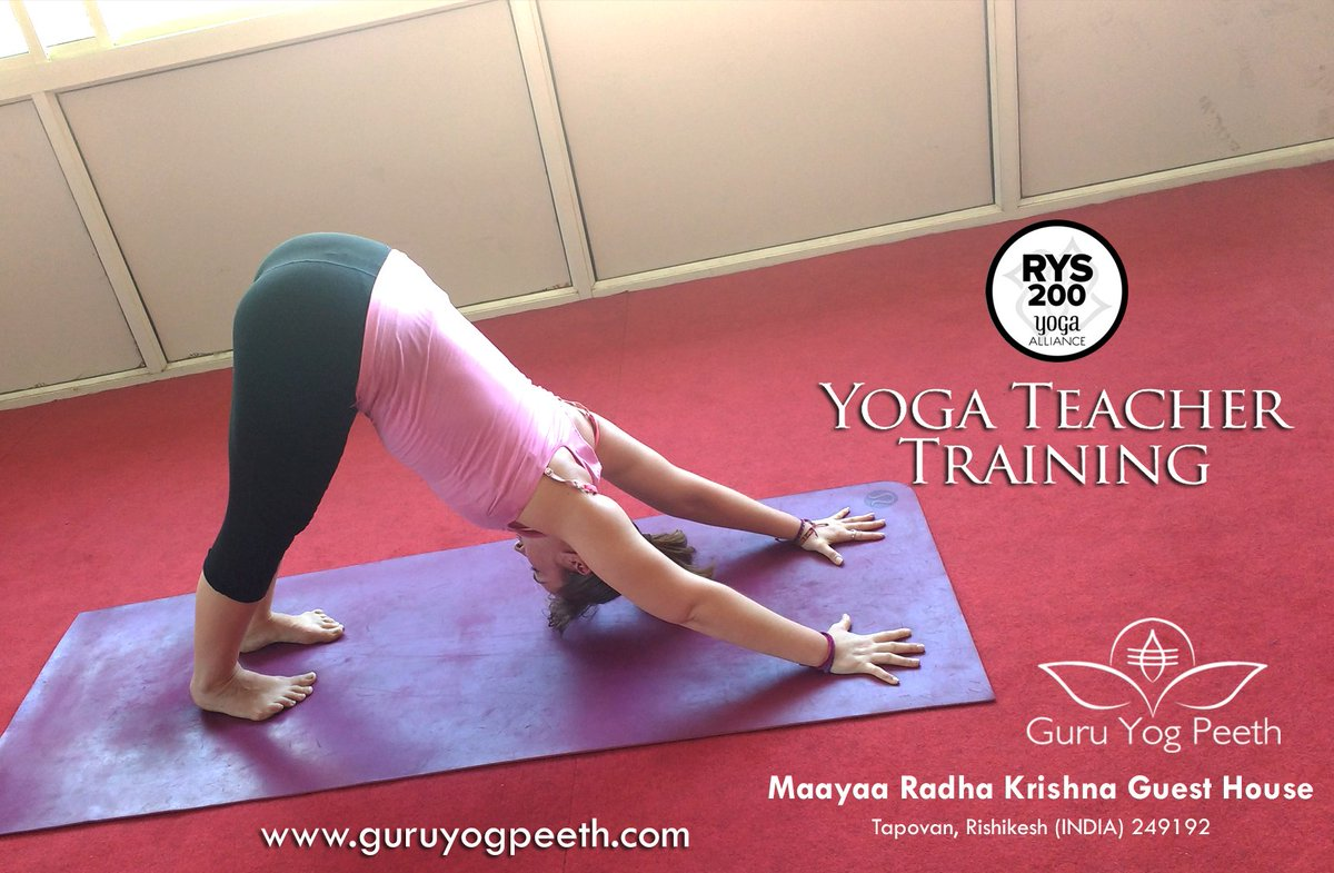 A complete guide is here for the upcoming #200_Hour #Teacher_Training_Course to be held in #Guru_Yog_Peeth, #Rishikesh, #India. Be the part of this astonishing #yoga_training_program and move one step ahead to your dream of becoming a teacher. More: http://guruyogpeeth.com