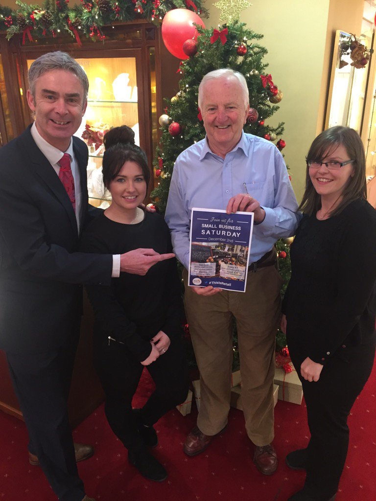 #SmallBusinessSaturday is all about supporting great local businesses like @billynolans Tralee! #ThisIsRetail https://t.co/eWXmxOFkAn