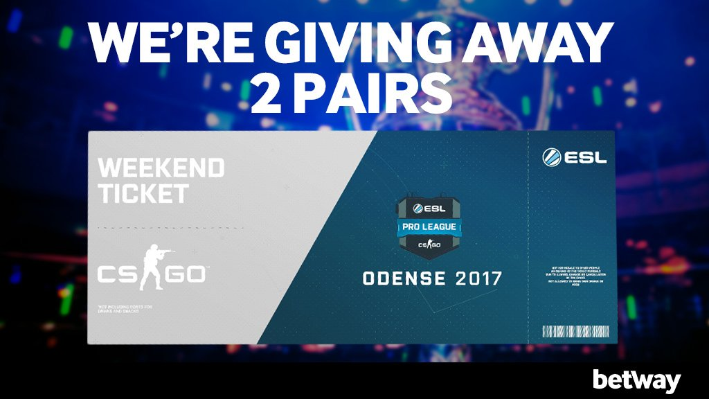 Esl pro league giveaways
