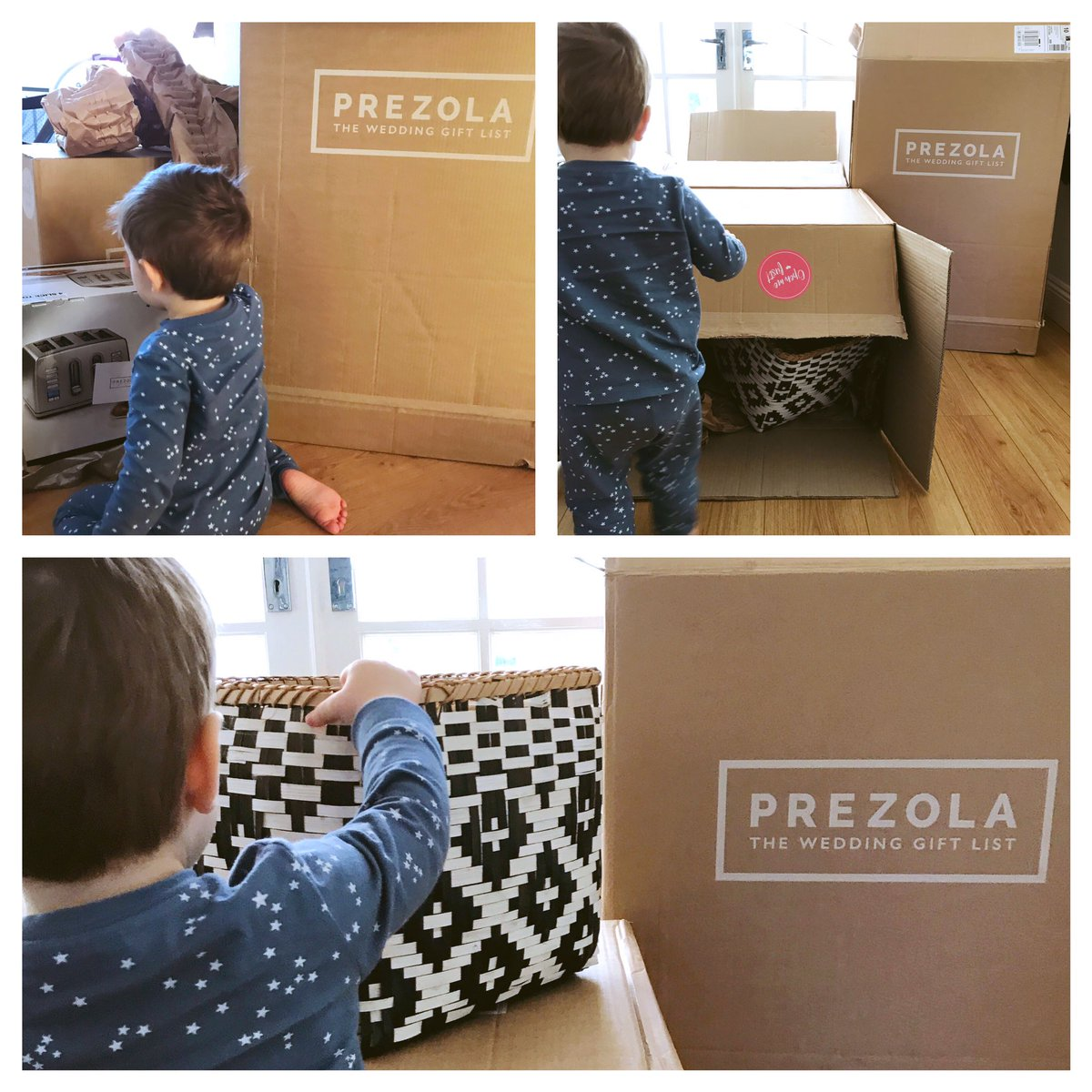 Prezola Twitter Enjoying Opening All Our Gorgeous Wedding Gifts From Lovely Family Friends We