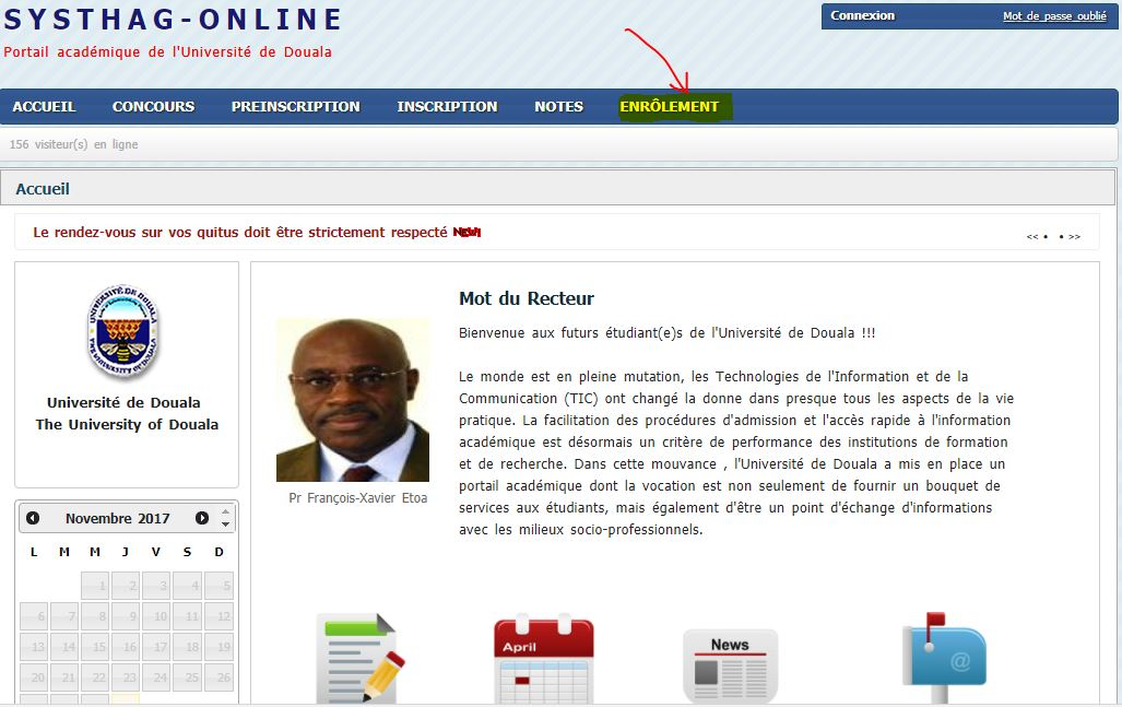 quitus université de douala