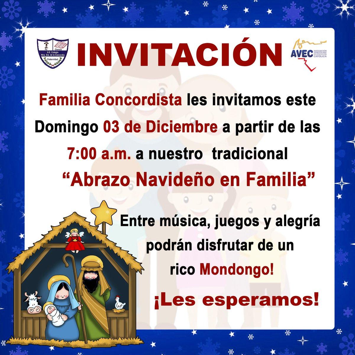 Colegio Ns Concordia On Twitter Familia Concordista Les Invitamos