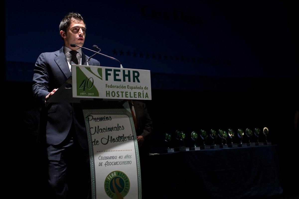 ¡¡Enhorabuena a @rtecasaelena por el Premio Nacional de Hostelería de @FEHRhosteleria ¡A por muchos premios más! https://goo.gl/rqjJxv