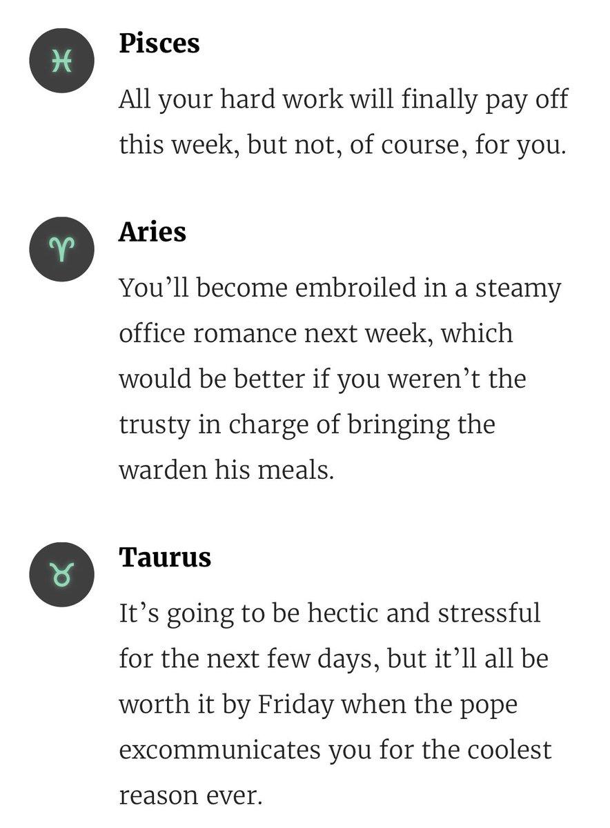 the onion horoscope scorpio