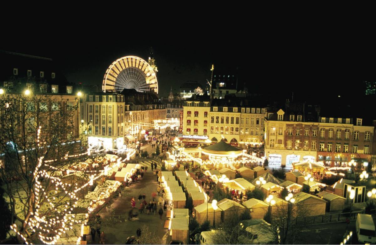 We have a group of 32 students going to Lille for the Christmas Market tomorrow & practicing their language skills