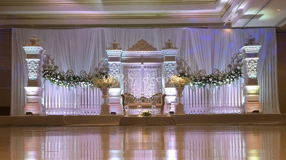 Gps Decors On Twitter Chic Elegant Wedding Reception Setup At