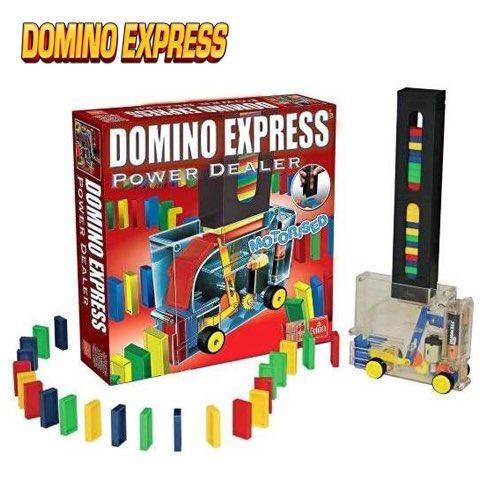 Goed, in de tussentijd vermaken wij ons op de redactie wel ff met Domino Express