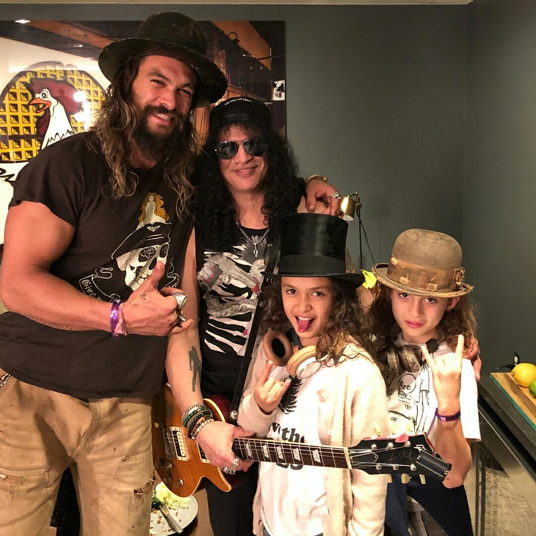 "Jason Momoa Zahn Mcclarnon: Slash News On Twitter: ""Slash With Jason Momoa And His"