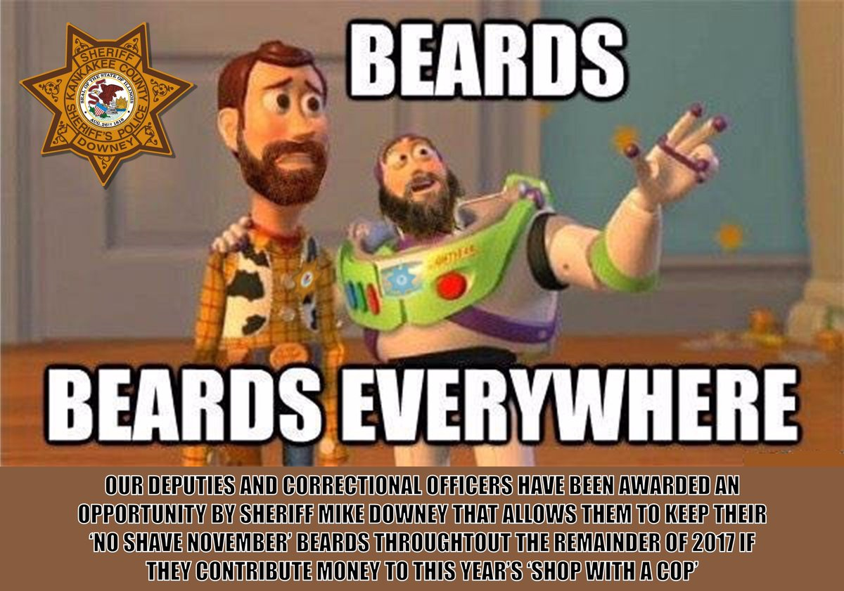 kankakee co sheriff on twitter you may see some bearded officers