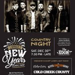 We have partnered with @TheLocalCFC for Country Night!! Performances by @coldcreekcounty, @ChelseaCrites  and @RiverJunctband!! Get your tickets NOW, before they are gone! https://t.co/Vduf6wqz8m  #GoneCountry #CountryMusic #StratNewYears #NYE2017 #StratfordON