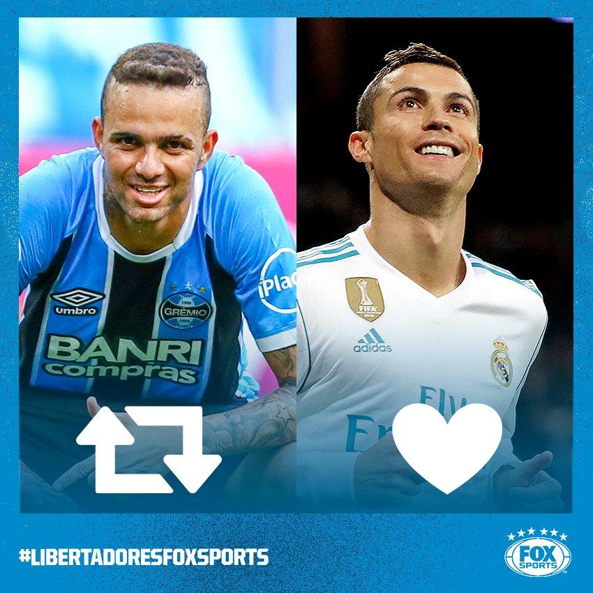 O MUNDIAL VEM AÍ! Quem será o craque do torneio?  🔁 Luan  ❤️ Cristiano Ronaldo