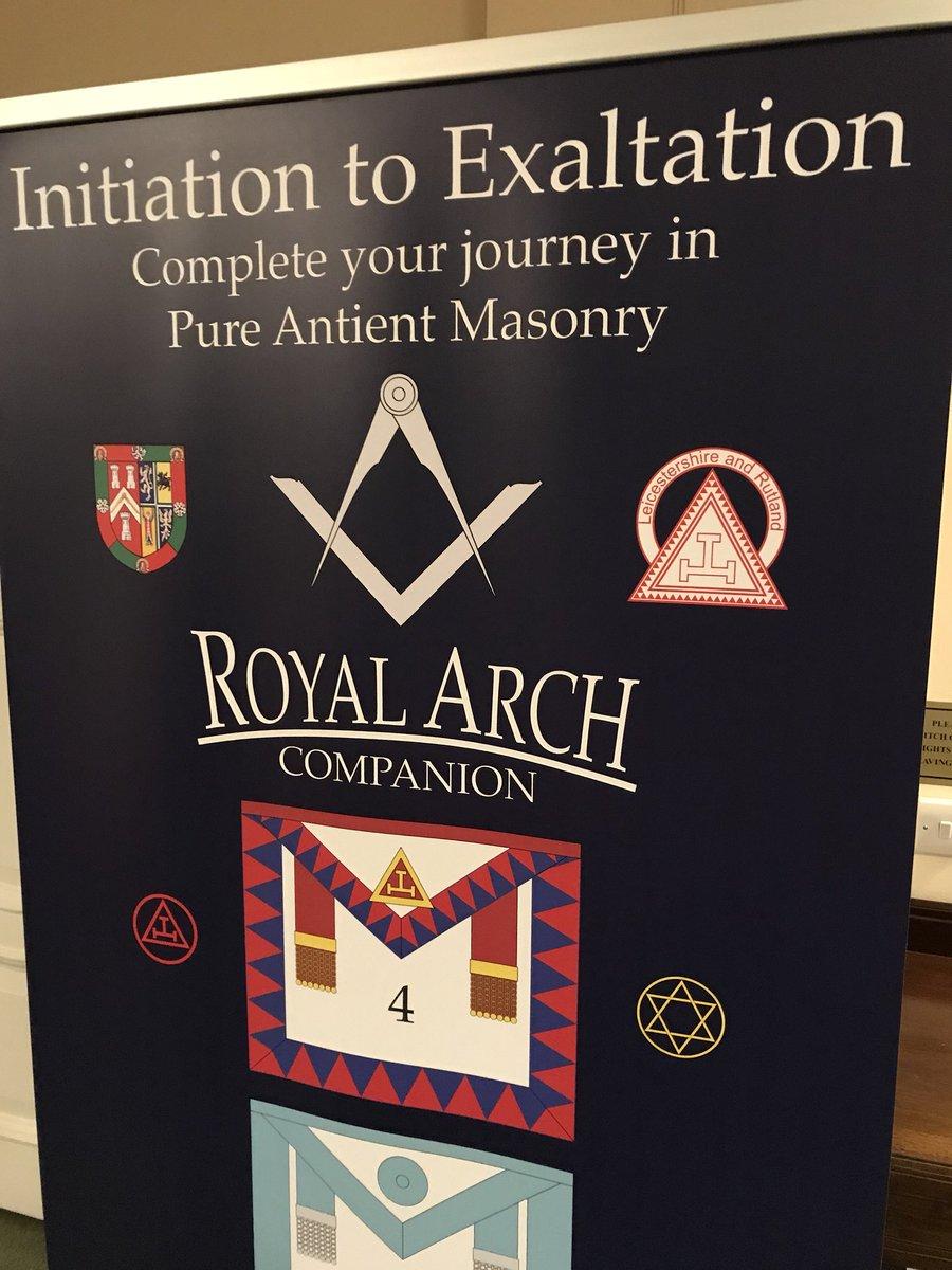 Leics&Rut Royal Arch on Twitter: