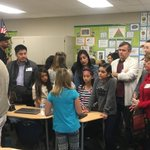 4th Passion Project presentations. Thank you parents for coming.