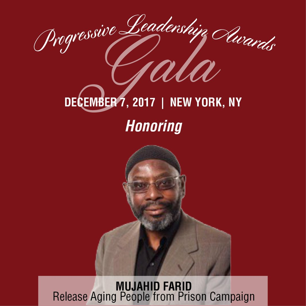 Join us Dec. 7 to honor @mjfarid49 of @R...