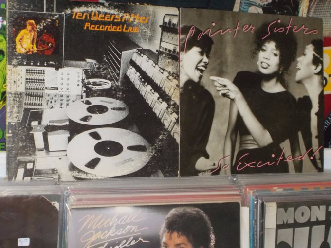 Happy Birthday to Leo Lyons of Ten Years After & the late June Pointer of the Pointer Sisters