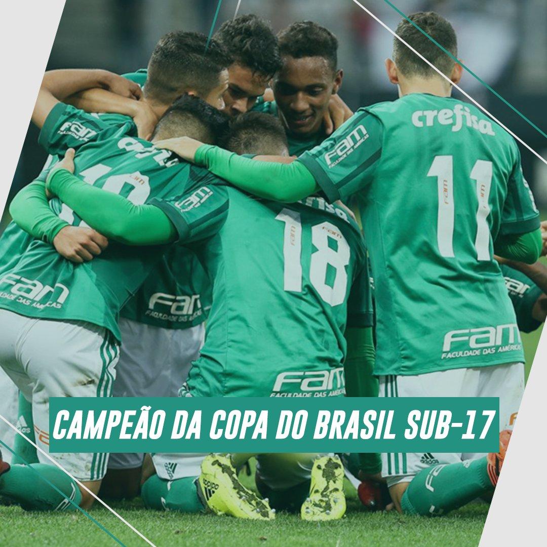 Em mata-mata contra o Corinthians deu Verdão? Cadê a novidade? 😂🤷♂️ O Verdão é campeão da Copa do Brasil Sub-17! 🏆   #AvantiPalestra
