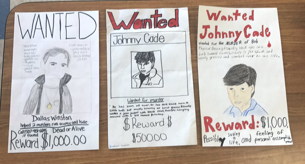 Kelsey Bradley On Twitter Our WANTED Posters For Some Characters
