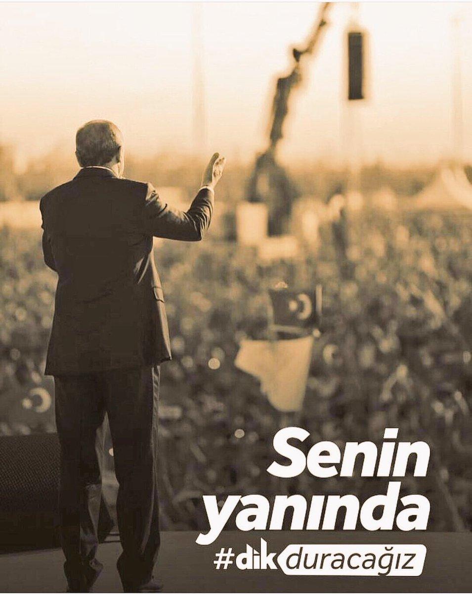 RT @omer_sahan34: Asla yalnız yürümeyeceksin reis #ErdoğanıSizeYedirmeyiz https://t.co/O4trwmwIMq
