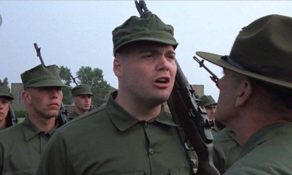 Vincent Donofrio On Twitter I Was Private Pyle In Fmj