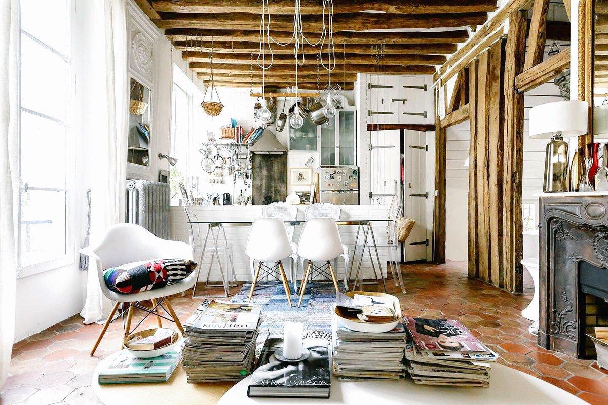 design appartement on twitter sous les toits de paris. Black Bedroom Furniture Sets. Home Design Ideas