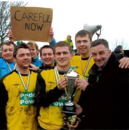 Inishbofin winning the Craggy Island Wor...