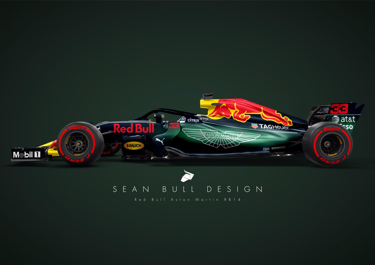 Sean Bull Design On Twitter After Andyataston Latest Comments Is This How The Aston Martin Red Bull Rb14 Will Look Next Season Flashes Of Green Redbull Astonmartin Vertsappen Ricciardo Msportxtra Https T Co 7wamietydx