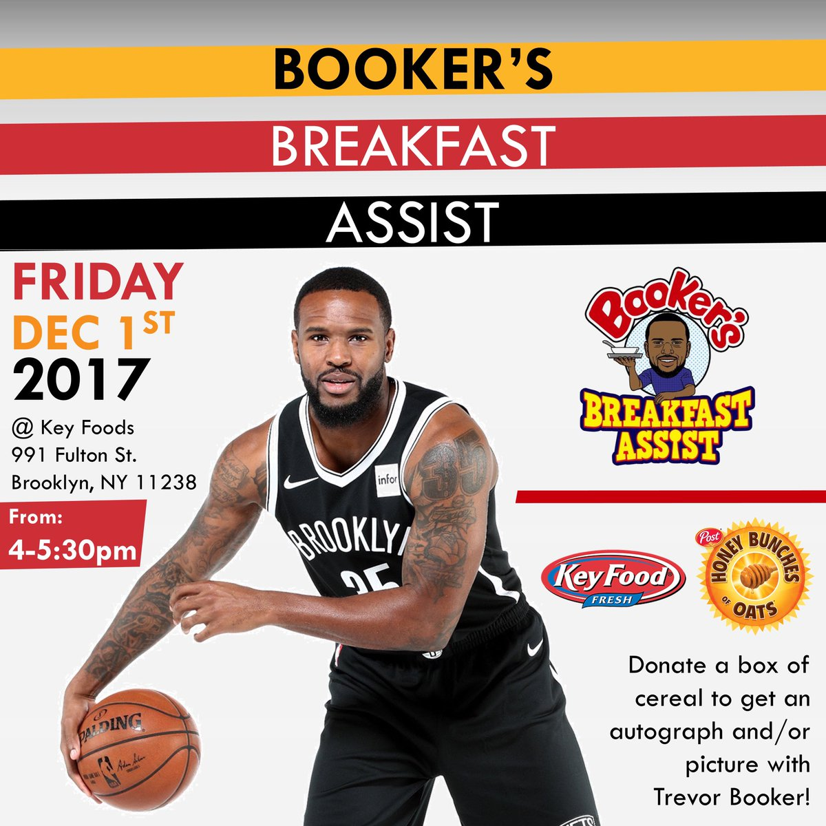 Join me tomorrow for my annual Breakfast Assist