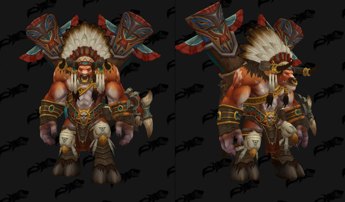 wowhead on twitter baine bloodhoof s updated model in patch 7 3 5