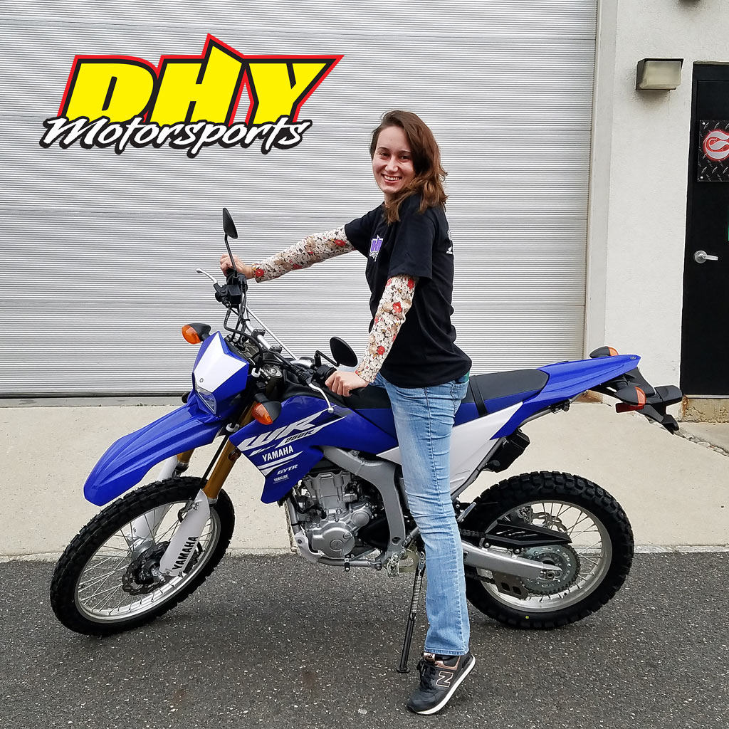 Dhy motorsports on twitter congrats valentina on this for 2018 yamaha wr250r