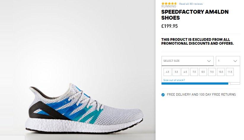 size 40 3f701 7ca7f adidas speedfactory am4ldn london england