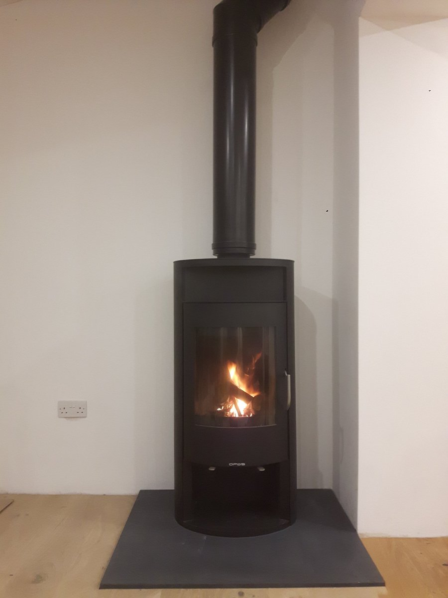 Lovely Opus Calypso Wood Burner With Back Boiler To Thermal Store Super Efficient Clean Burn And A Warm House No Fuss Stovesonlinepictwitter