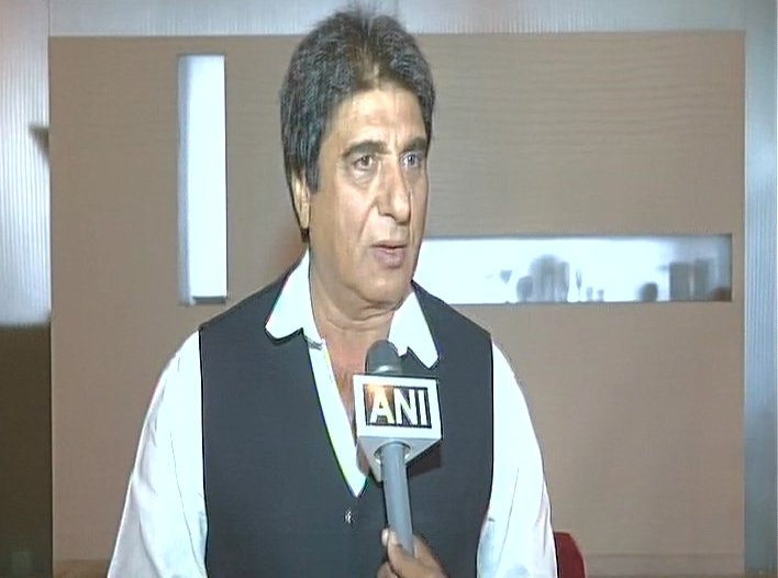 Raj Babbar says ,  Shah a non-Hindu, Rupani terms him ignorant