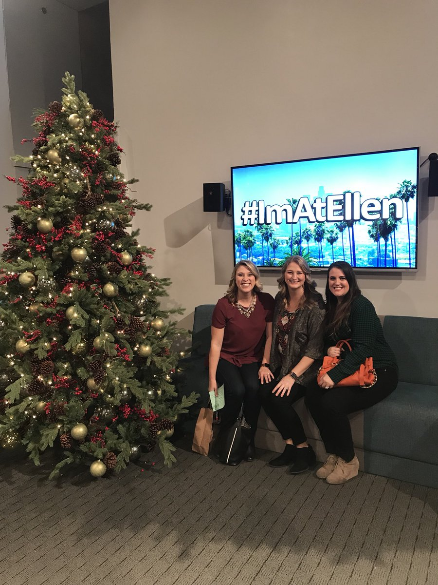 we had such a fun time at the ellen show for 12 days of giveaways and