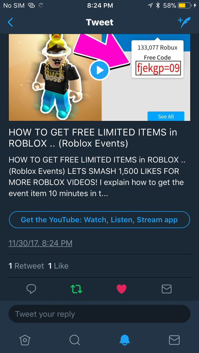 Free Limited Items On Roblox Landon On Twitter How To Get Free Limited Items In Roblox Roblox Events Https T Co T3effuseca Via Youtube