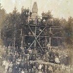 近畿のとあるお寺に残された写真です。この観音像が撮影された場所、年代を探しています。これだけ巨大な観…