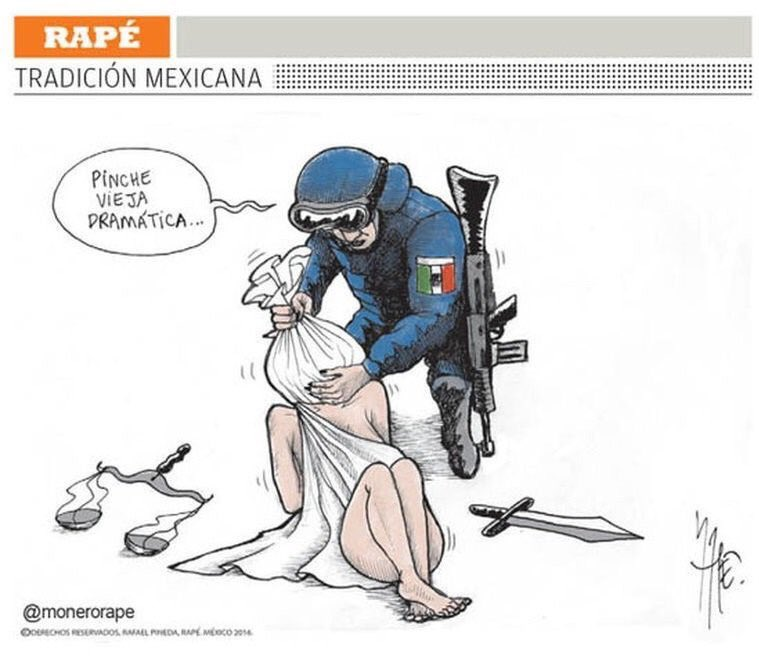 Así. #LeyDeSeguridadinterior #LeyGolpista. Vía @monerorape