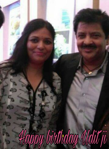 Happy birthday to our country\s melodious singer Shri Udit Narayan ji