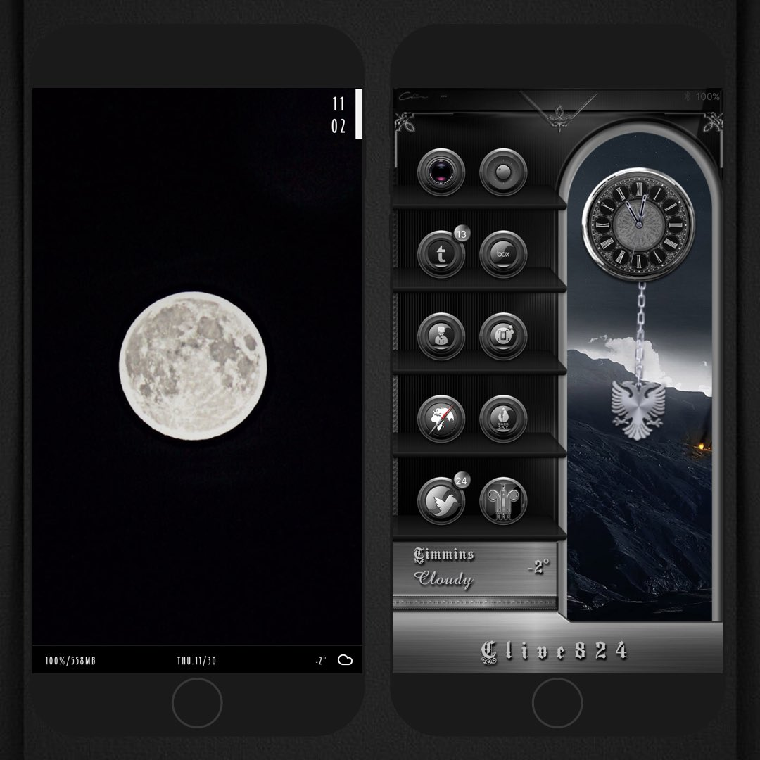 BlackNux @Chris_Themes LS @ev_ynw XHTML CC (Black Eagle Theme) StBar @yofatpapa AE @Ecko666 Badge @StarkCity Wall @m33m1331 TYVM Sorry, I have very little time these days to help out. Life keeps getting in my way. Until then...<br>http://pic.twitter.com/Ta9XDC6l7J