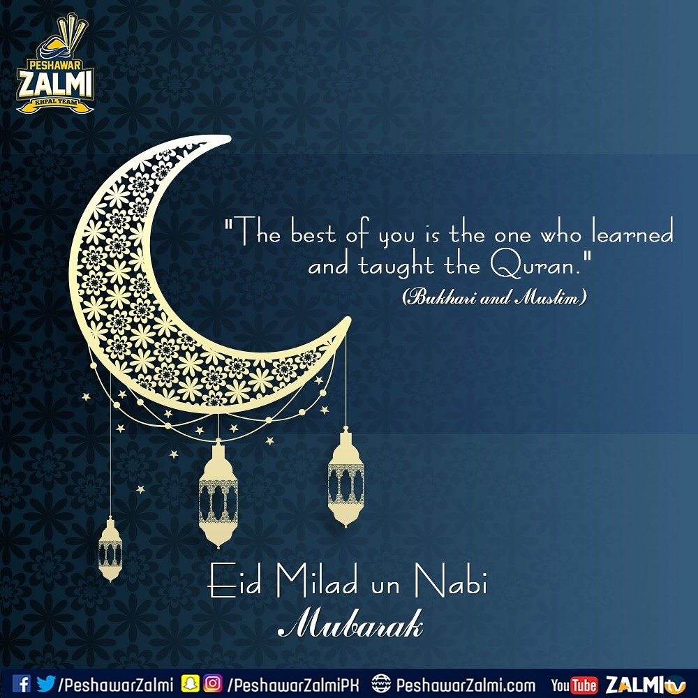 Peshawarzalmi On Twitter Eid Milad Un Nabi Greetings To Muslims